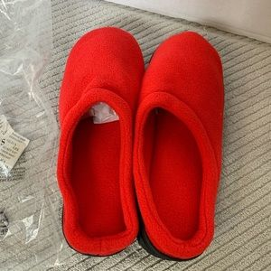 Unisex Bright Red Slide Slippers NEW Size 11-12